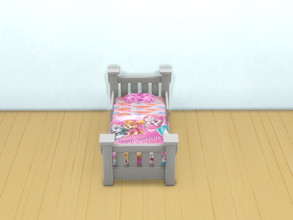 Sims 4 — Paw patrol bed for toddlers by Arisha_214 — Beds for little Paw patrol fans :)