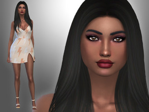 Sims 4 — Alexia Harman by Mini_Simmer — Download the CC from the Creator notes (by clicking on the text) Don't reclaim or