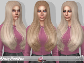 Sims 4 — JavaSims- Delly (Hairstyle) by JavaSims — ABOUT ===========================================================