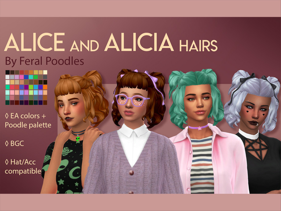 Feralpoodles Alice Hair