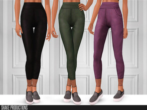Sims 3 — ShakeProductions-S3-99 by ShakeProductions — High waisted leggings Recolorable