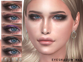 Sims 4 — Eyeshadow N64 by Seleng — Eyeshadow for female Teen to Elder 7 colours Custom Thumbnail HQ Compatible Happy