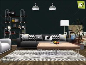 Sims 3 — Ullery Living Room by ArtVitalex — - Ullery Living Room - ArtVitalex@TSR, Sep 2020 - All objects are recolorable