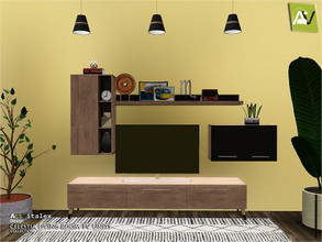 Sims 3 — Celestia Living Room TV Units by ArtVitalex — - Celestia Living Room TV Units - ArtVitalex@TSR, Sep 2020 - All
