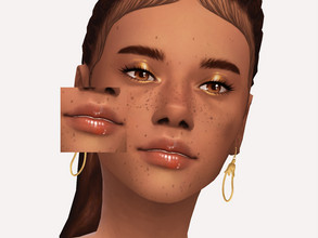 Sims 4 — Caramel Drip Lipgloss by Sagittariah — base game compatible 5 swatches properly tagged enabled for all occults