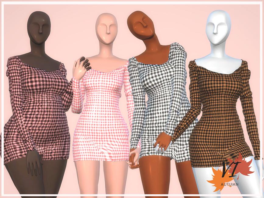 Viy Sims Dress I - Autumn VI