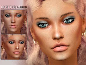 Sims 4 — [Suzue] Lighter and Blush N11 by Suzue — * 10 Swatches * For Both Genders (All Ages) * HQ Compatible