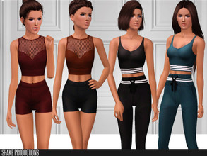 Sims 3 — ShakeProductions 102 SET by ShakeProductions — This set contains 4 items