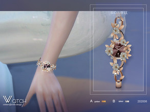 Sims 4 — S-Club LL ts4 watch 202006 by S-Club — Watch hope you like, Red carpet jewelry --containing crowns, earrings,