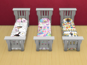Sims 4 — Despicable Me beds by Arisha_214 — Beds for all Despicable Me fans :)
