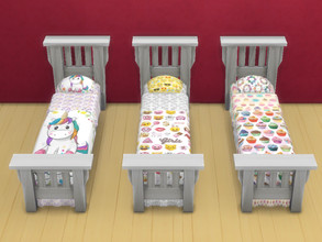 Sims 4 — Beds for teens by Arisha_214 — Beds for cool teens :)
