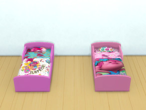 Sims 4 — Trolls beds for toddlers by Arisha_214 — Beds for little Trolls fans :)