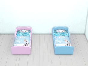 Sims 4 — Frozen Olaf beds for toddlers by Arisha_214 — Olaf bed for little Frozen fan :)