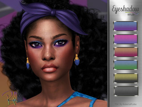 Sims 4 — Eyeshadow RPL09 by RobertaPLobo — :: 6 swatches :: Female (Adult) :: HQ mod compatible :: Custom thumbnail ::