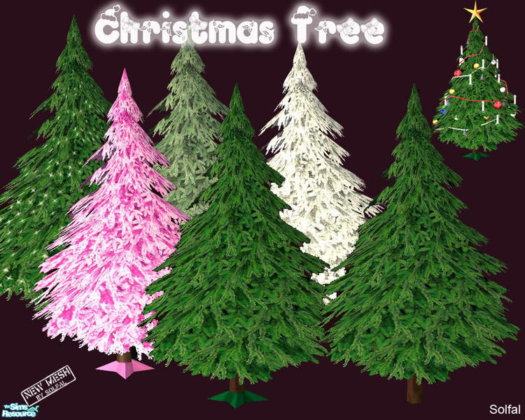 Free Sims 2 Downloads - 'christmas tree'