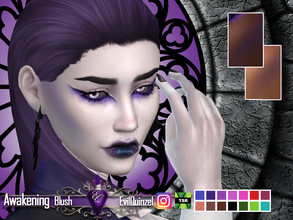 Sims 4 — Awakening Blush by EvilQuinzel — - Blush category; - Female and male; - Teen + ; - All species; - 14 colors; -