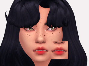 Sims 4 — Sour Cherry Lipstick by Sagittariah — base game compatible 5 swatches properly tagged enabled for all occults
