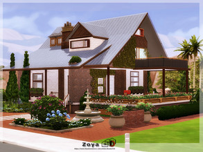 Sims 4 — Zoya by Danuta720 — by Danuta720 Make sure your game is fully updated. Please do not re-upload or claim as your