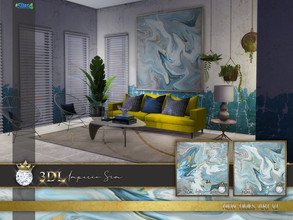 Sims 4 — 3DL Imperio Sim New Times Art v.1 by eddielle — Beautiful big art for your sim's house. I have used my own