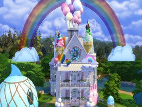 Sims 4 — Yummy Wonderland by susancho932 — Hungry for desserts? Then come on in to Yummy Wonderland where it can feed all