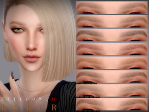 Sims 4 — Bobur Eyebrows 31 by Bobur2 — Eyebrows for female 14 colors HQ I hope you like it