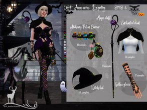 Sims 4 — DSF  Accessories Enchanting by DanSimsFantasy — This group of accessories allows you to create a mystical or