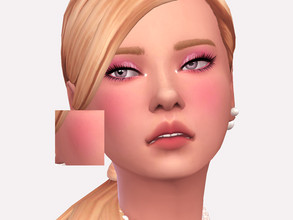 Sims 4 — Cotton Candy Blush by Sagittariah — base game compatible 3 swatches properly tagged enabled for all occults