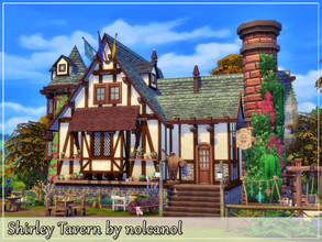 Sims 4 — Shirley Tavern by nolcanol — Shirley Tavern is a place where many people will forget why they really came here.