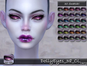Sims 4 — [Ts4]Taty_DollyEyes_38 by tatygagg — - Female, Male - Human, Alien - Toddler to Elder - Hq Compatible