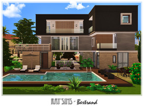 Sims 4 — Bertrand by Ray_Sims — This house fully furnished and decorated, without custom content. This house has 2