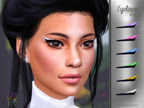 Sims 4 — Eyeliner RPL11 by RobertaPLobo — :: 6 swatches :: Female (Adult) :: HQ mod compatible :: Custom thumbnail ::
