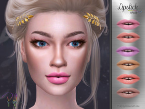 Sims 4 — Lipstick RPL09 by RobertaPLobo — :: Lipstick :: 6 swatches :: Female (Adult) :: HQ mod compatible :: Custom