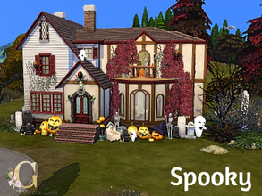Sims 4 — Spooky by GenkaiHaretsu — Did you dream about house for your ghosts?