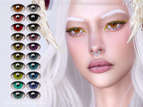 Sims 4 — EYES-Cassandra by ANGISSI — *For all questions go here - angissi.tumblr.com Facepaint category 20 colors HQ