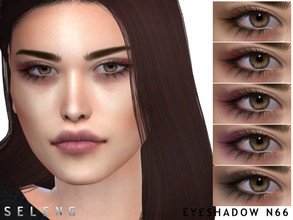 Sims 4 — Eyeshadow N66 by Seleng — Eyeshadow for female and male 8 colours Custom Thumbnail HQ Compatible Happy Simming!