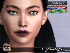Sims 4 — [Ts4]Taty_Eyeliner_15 by tatygagg — - Female, Male - Human, Alien - Teen to Elder - Hq Compatible