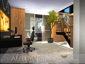 Sims 4 — Autumn Kiss - Extra Room by fredbrenny — Extra room. Question:What is it? Is it a study? Is it a laundry room?