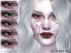 Sims 4 — HT Eyes N1 by Seleng — Toddler to Elder 9 colours Custom Thumbnail HQ mod compatible The picture was taken with