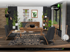 Sims 4 — Naturalis Office by SIMcredible! — Bringing today a new Naturalis set. Now, it's the office. In natural