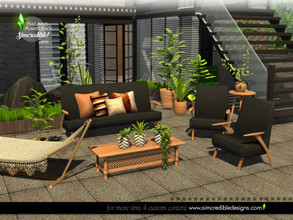 Sims 4 — Naturalis Plants II by SIMcredible! — Since we wanted to create a sort of 'alive' atmosphere to our newest