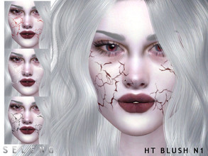 Sims 4 — HT Blush N1 by Seleng — Blush for female and male Toddler to Elder 5 colours Custom Thumbnail Picture was taken