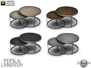 Sims 4 — Pepka livingroom coffee table by jomsims — Pepka livingroom coffee table