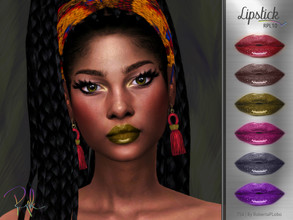 Sims 4 — Lipstick RPL10 by RobertaPLobo — :: Lipstick :: 6 swatches :: Female (Adult) :: HQ mod compatible :: Custom