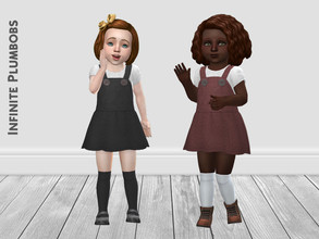 Sims 4 — IP Toddler Knee High Socks by InfinitePlumbobs — Toddler Knee High Socks to accompany all those pretty Autumnal