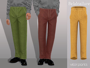 Sims 4 — Belaloallure_Vitor pants by belal19972 — Simple corduroy pants for your sims ,enjoy :)