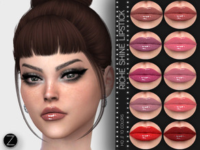 Sims 4 — RICHE SHINE Z09 by ZENX — -Base Game -All Age -For Female -10 colors -Works with all of skins -Compatible with