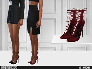 Sims 4 — ShakeProductions 545 - High Heels by ShakeProductions — Shoes/ Boots-Heels New Mesh All LODs Handpainted 15