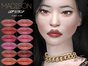 Sims 4 — IMF Madison Lipstick N.294 by IzzieMcFire — Madison Lipstick N.294 contains 12 colors in hq texture. Standalone
