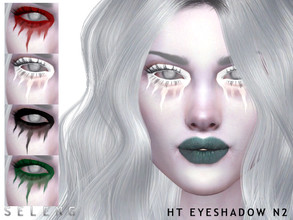 Sims 4 — HT Eyeshadow N2 by Seleng — Eyeshadow for female 5 colours Custom Thumbnail HQ Compatible Happy Simming!