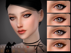 Sims 4 — Bobur Eyelashes 23 by Bobur2 — Eyelashes for female 8 colors HQ I hope you like it